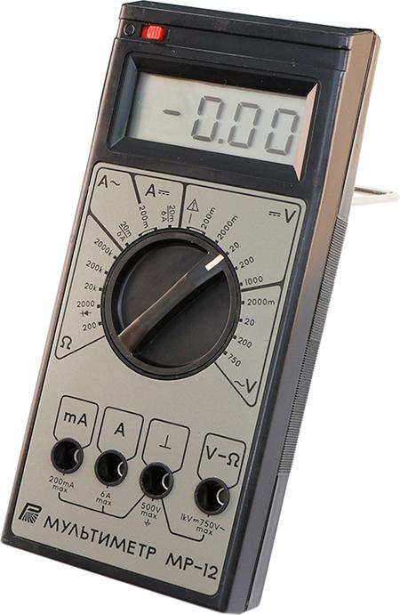 Мультиметр радиолюбителя МР-12 1991 г.в. производства Краснодарского завода радиоизмерительных приборов