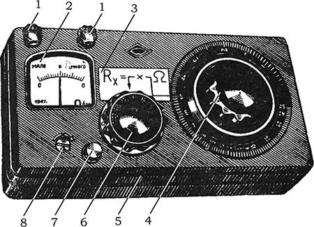 Рисунок 1. Общий вид и органы управления моста постоянного тока ММВ.