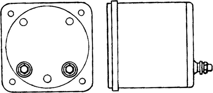 Рисунок 1. Общий вид вибрационного частотомера типа В81