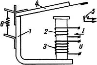 Рисунок 2. Конструктивная схема реле обратного тока на базе РЭ-100