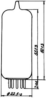 Рисунок 1. Конструктивные данные реле РТН-1 и РТН-2