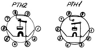 Рисунок 3. Электрическая схема реле РТН-1 и РТН-2