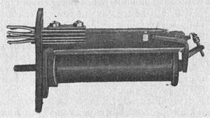 Рисунок 1. Реле пружинного типа фирмы Эрикссон (Ericsson) старого типа.