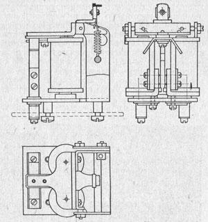 Рисунок 5. Пусковое реле сильного тока завод Красная заря
