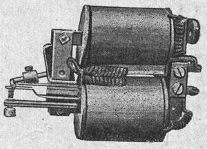 Рисунок 13. Реле переменного тока фирмы Сименс и Гальске (Siemens & Halske)