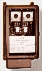Рисунок 2. Защита от небаланса типа SM22 (AEG, 1950)