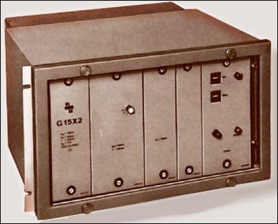 Рисунок 3. Защита статора от повреждений на землю G15X2, ZPA (примерно 1970)