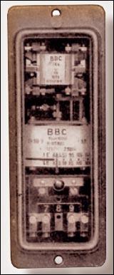 Рисунок 2. Реле напряжения типа RGB (BBC, 1943)