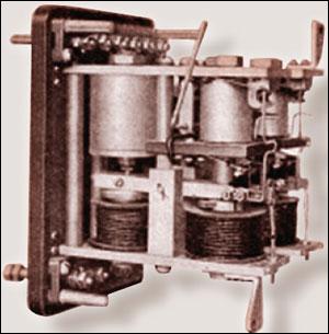 Рисунок 3. Токовое балансное реле для ВЛ 154 кВ (примерно 1945 г)