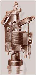 Рисунок 1. Прямой расцепитель, патент №260066 (Sachsenwerk, примерно 1920)