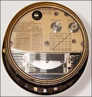 Рисунок 4. Однофазное реле МТЗ с независимой время-токовой характеристикой, патент №69007, компания AEG, 1916