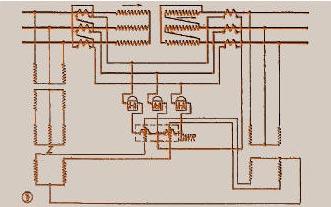 Рисунок 12. Ваттметрическое дифференциальное реле (Siemens), промежуточные трансформаторы напряжения