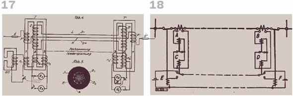 Рисунок 17. Кабельная защита Фанкуша  Рисунок 18. SV-защита, схема, AEG, 1936 г.