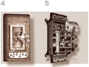 Рисунок 4. Высокочувствительное реле (Siemens) Рисунок 5. Реле QS1, AEG с коэффициентным измерением
