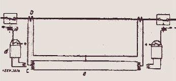 Рисунок 7. Система с сигнальными проводами и расщеплением