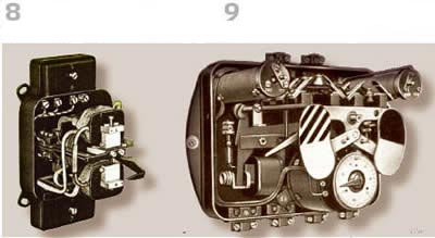 Рисунок 8. RW10 однополюсное реле (Siemens)  Рисунок 9. Кабельная защита Фанкуша AEG, 1920 г