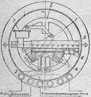 Рисунок 1. Чертеж максимального мгновенного реле типа РММ производства ХЭМЗ