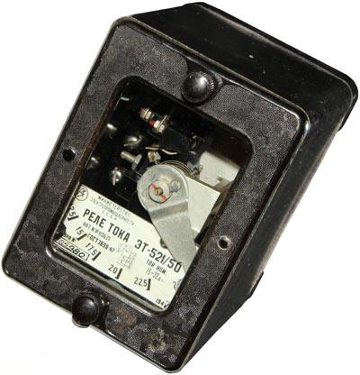 Реле максимального тока ЭТ-521/50 1948 г.в. производства ЧЭАЗ