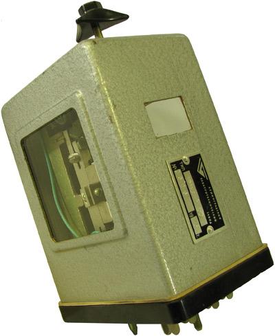 Импульсное реле типа ИМШ1-1700  1975 года выпуска. Производства Ленинградского Электротехнического завода МПС (ЛЭТЗ)