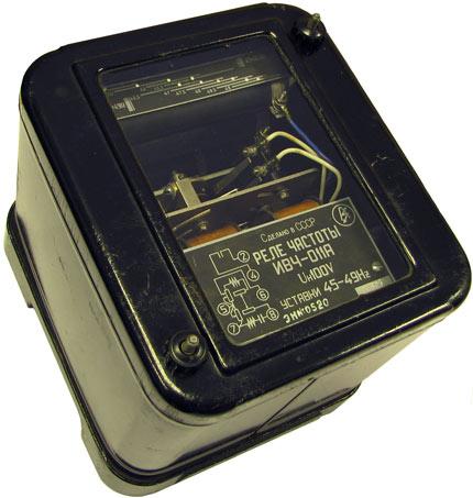 Реле понижения частоты ИВЧ-011А 1962 года выпуска, производство ЧЭАЗ