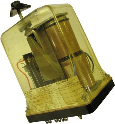 Нейтральное реле типа НМВШ2-900-900  1974 года выпуска. Производства Ленинградского Электротехнического завода МПС (ЛЭТЗ)