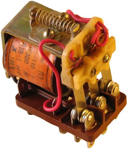 Реле промежуточное типа ПЭ-1-1 производства завода