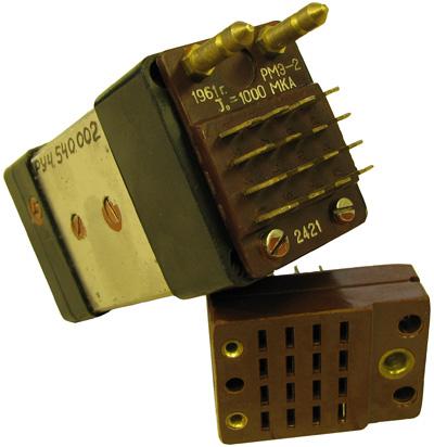 Магнитоэлектрическое реле типа РМЭ-2 год выпуска 1961