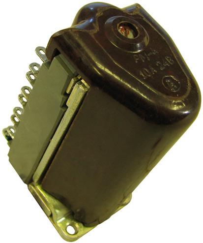 Промежуточное реле типа РМ-4 1974 г.в. производства Чебоксарского электроаппаратного завода