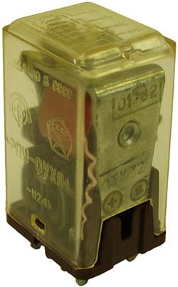 Промежуточное реле РПУ-0 1982 г.в. производства Оргеевского завода низковольтной аппаратуры