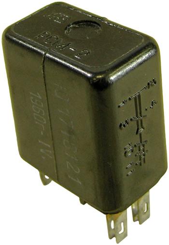 Малогабаритное реле постоянного тока типа РСМ-2 производства Харьковского релейного завода, паспорт Ю.171.81.21 год выпуска 1960.