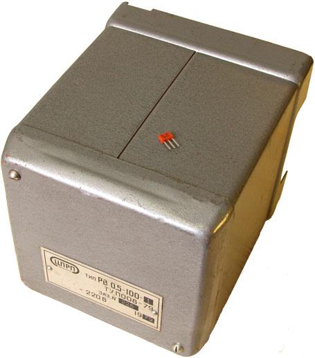 Конденсаторное реле времени типа РВ-0,5-100-1. Производства ЦПРП Ленэнерго год изготовления 1979.