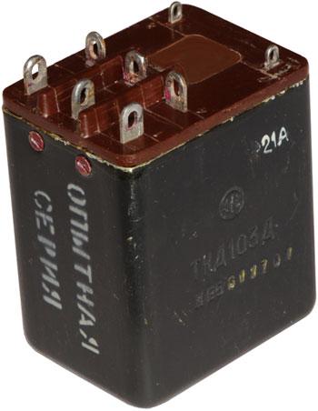 Контактор включающий трехцепной типа ТКД-103Д производства Электромашиностроительного завода имени Лепсе