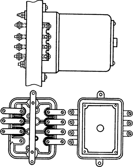 Рисунок 1. Чертеж реле обрыва фаз Е-511