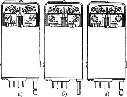 Рисунок 1. Общий вид поляризованных реле типа РП