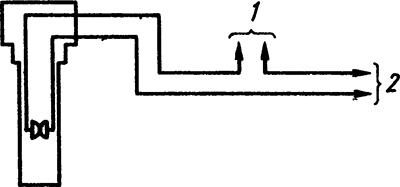 Рисунок 2. Схема включения температурного реле ТР-200