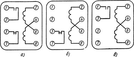 Рисунок 4. Схема внутренних соединений реле тока серии ЭТ-520
