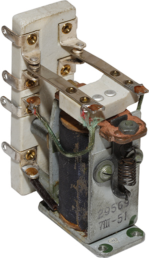Высокочастотное реле типа29569 1951 г.в.