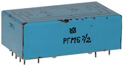 Герконовое реле РГМ6 2/2 изготовления производственного объединения Красная заря