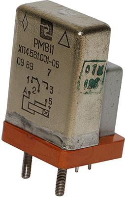 Статическое реле времени РМВ-11 ХП4.561.001-05 1989 г.в. производства Ереванского релейного завода