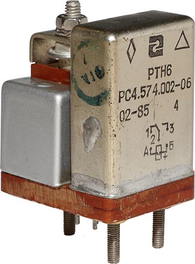 Реле времени РТН-6 РС4.574.002-06 1985 г.в. производства Ереванского релейного завода