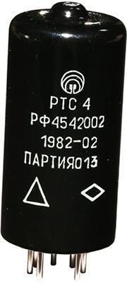 Электротепловое реле времени РТС-4 РФ4.542.002 1982 г.в. производства Харьковского ПО Радиореле