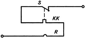 Рисунок 1. Электрическая схема реле РТ-10