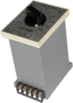 Транзисторное реле времени ВЛ-38 1980 г.в. производства НПО Реле и автоматика