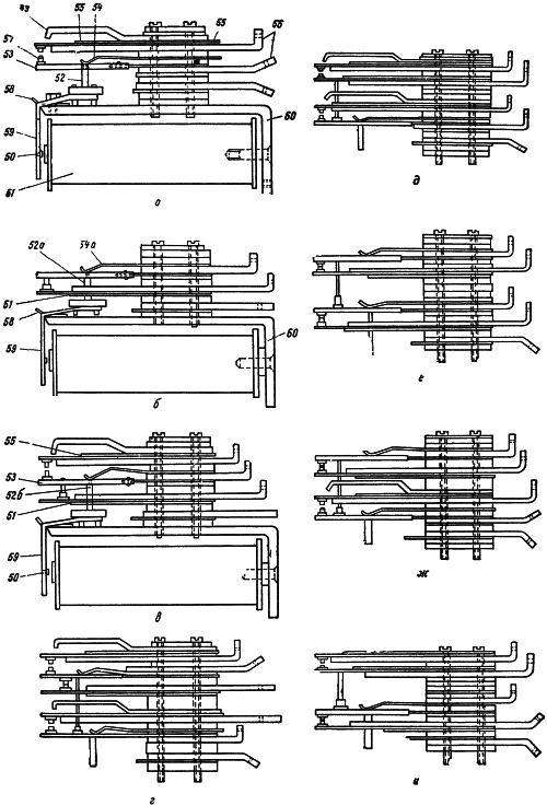 Рисунок 1. Реле РСАМ-1 и его контактные группы