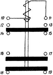 Рисунок 2. Принципиальная схема реле РТ-40