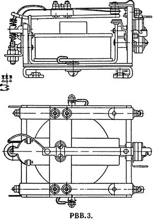 Чертеж высоковольтного антенного реле ЯС4.500.002 (РВВ-3)