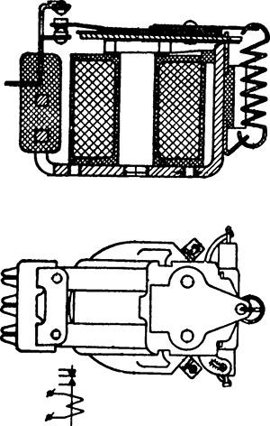 Чертеж реле постоянного тока РЭ-53В