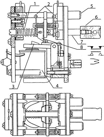 Чертеж реле РУ-2П