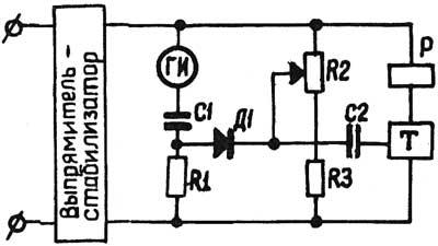 Функциональная схема реле ВЛ-38