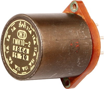 Герконовое реле ГМК10-2 1970 г.в. производства Опытного завода автоматики при Союзном Научно-исследовательском институте автоматики